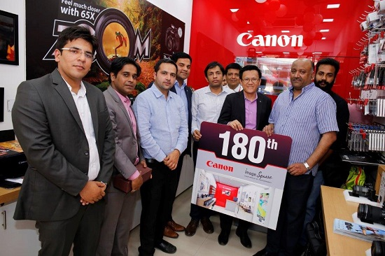 Canon India expands its retail presence in New Delhi